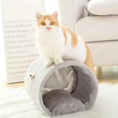 Ihrtrade Scratching Tube Cat Tunnel Toy