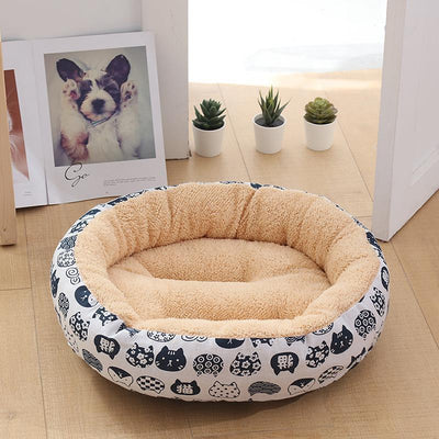 Ihrtrade Small And Medium-Sized Dog Warm Bed (4 colors)