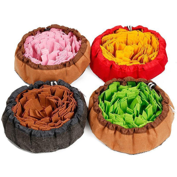 Ihrtrade Sniffing Pad Dog Consume Energy Education Bowl (4 colors)