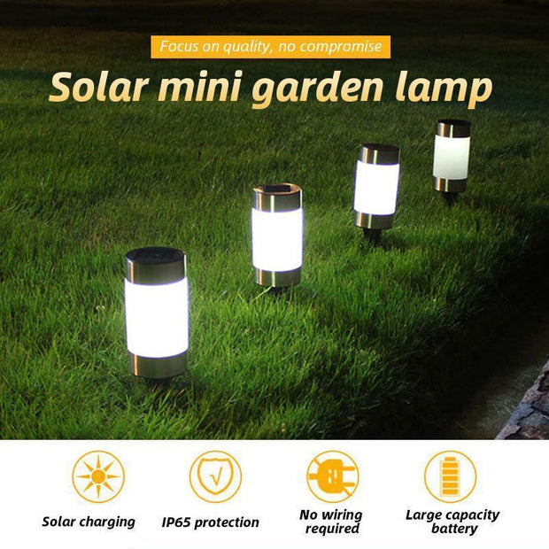 Ihrtrade Solar Mini Garden Lamp (2 types)