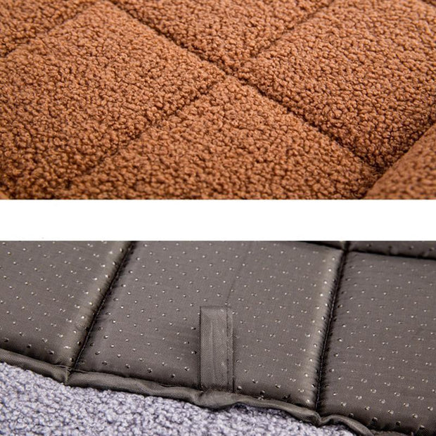 Ihrtrade Solid Color Cat/Dog Blanket Mat (3 colors & 4 sizes)