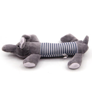Ihrtrade Sound Toy Stripe Interactive Dog Stuffed Toy (3 Types)
