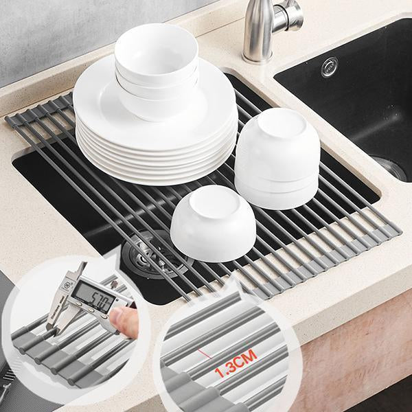 Ihrtrade Kitchen Folding Drain Rack (3 sizes)