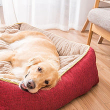 Load image into Gallery viewer, Ihrtrade Thick Thermal Large Dog Bed (2 colors & 4 sizes)