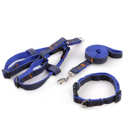Ihrtrade Three-Piece Suit Pet Harness Traction Rope Collar (4 colors & 4 sizes)