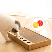 Ihrtrade Toy Ball-type Corrugated Paper Cat Scratching Plate (2 Types)