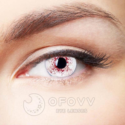 Ofovv® Cheap Prescription Trauma Eye Special Effect Colored Contact Lenses Online Store(1 YEAR)