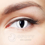 Cheap Prescription White Cat Special Effect Colored Contact Lenses Online Store(1 YEAR)