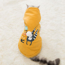 Load image into Gallery viewer, Ihrtrade Warm Cat Clothes Thick Coati Print Costume (3 colors & 5 sizes)