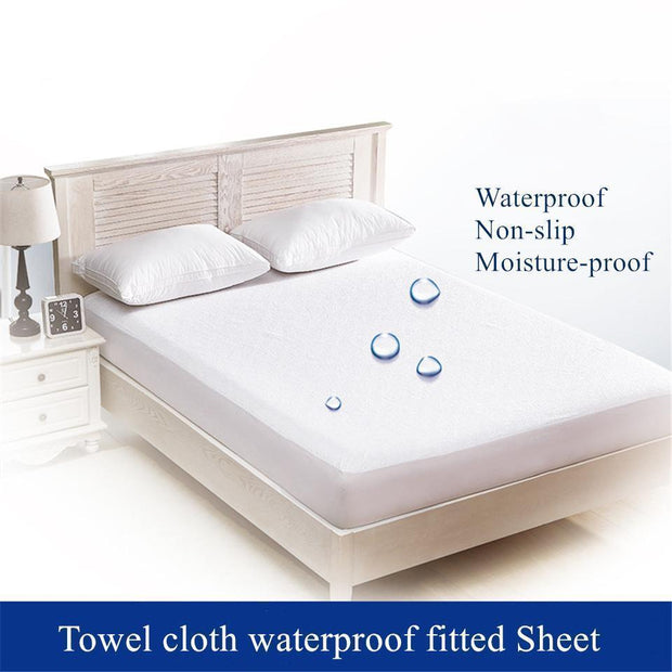 Ihrtrade White Waterproof Bed Cover (6 Types & Sizes)