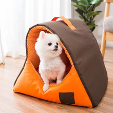 Load image into Gallery viewer, Ihrtrade Winter Warm Kennel Puppy Cave