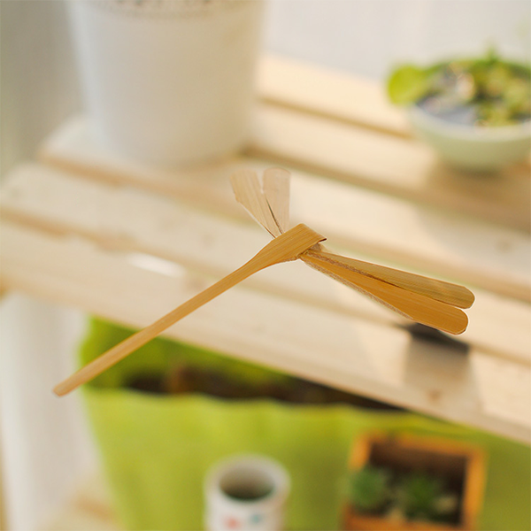 Ihrtrade Gravity balance bamboo dragonfly