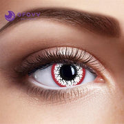 Ofovv® Cheap Non Prescription And Prescription Zombie Eyes Special Effect Colored Contact Lenses Online Store(1 YEAR)