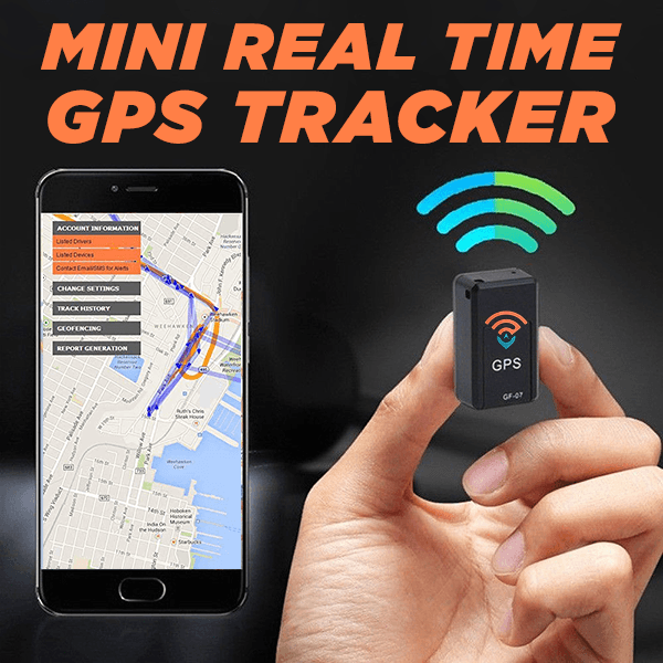 Ihrtrade Mini Real Time GPS Tracker - GF-07 Enhanced Magnetic Locator