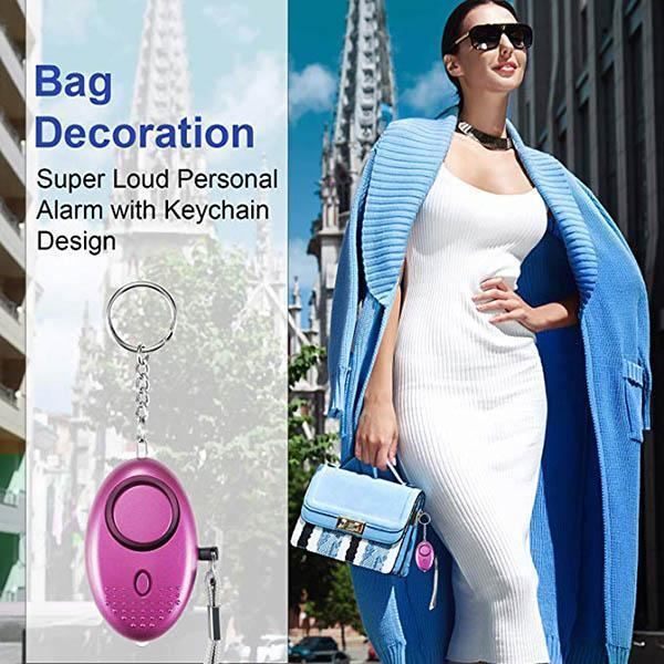 Ihrtrade Emergency Personal Alarm Keychain