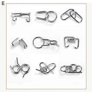 Ihrtrade Nine Interlocking Rings Link (7 types)