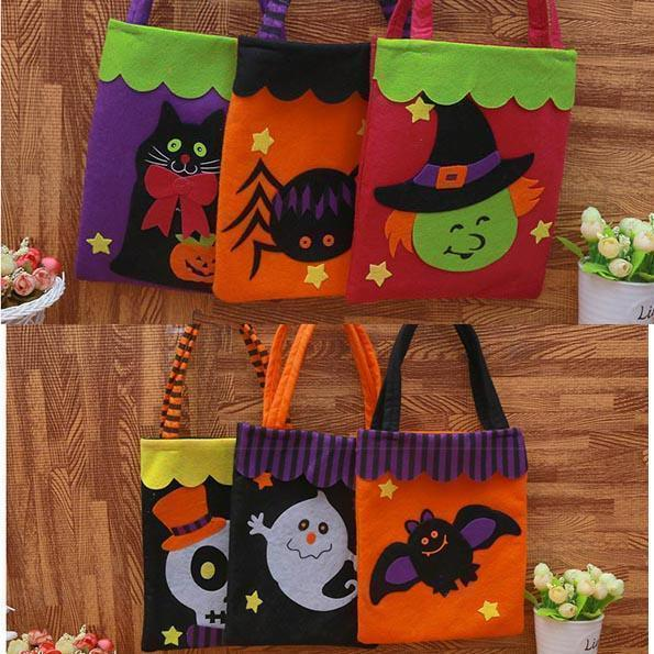 Ihrtrade Trick-or-Treat Candy Bag (7 types)