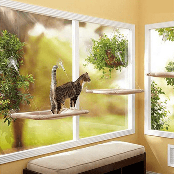 Ihrtrade Cat Window Seat Hammock
