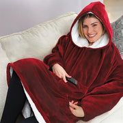 Ihrtrade Hooded Fleece Warmer (2 colors)
