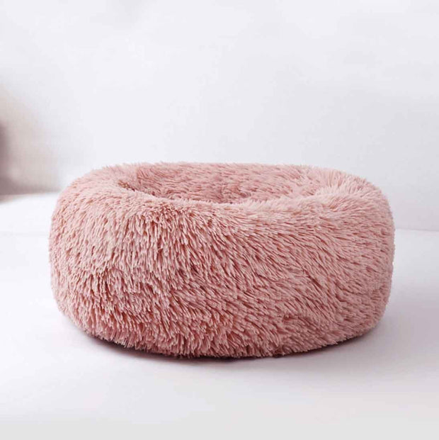 Ihrtrade Comfy Calming Dog/Cat Bed (8 colors & 5 sizes)