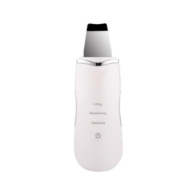 Professional Ultrasonic Facial Skin Scrubber Ion Deep Face Cleaning Peeling