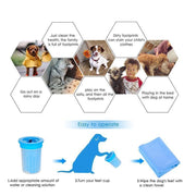 Ihrtrade Foot Cleaner Portable Pet Cleaning Cup (3 colors)
