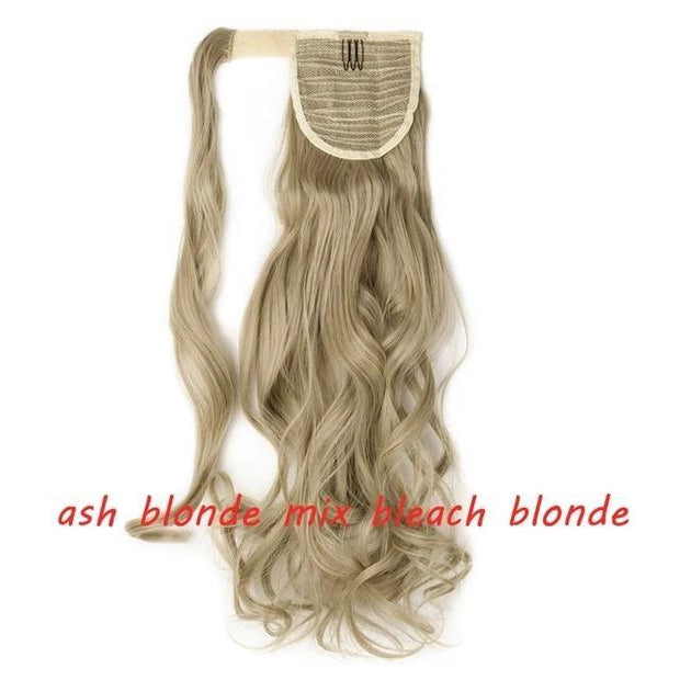 Ihrtrade 23 Inch Long Curly Clip In Hair Pony Tail Hair Extension