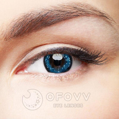 Ofovv®  Cheap Prescription Clear Sky Colored Contact Lenses Online Store (1 YEAR)