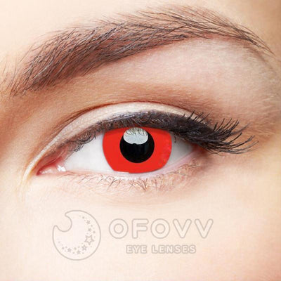 Ofovv® Cheap Prescription Devil Red Naruto Colored Contact Lenses Online Store (1 YEAR)