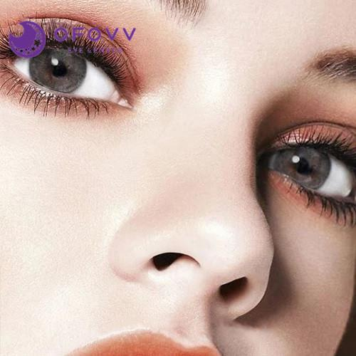 Ofovv® Cheap Prescription Euramerican Grey Colored Contact Lenses Online Store(1 YEAR)