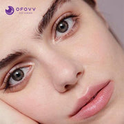 Ofovv® Cheap Prescription Gradient Star Chocolate Colored Contact Lenses Online Store(1 YEAR)