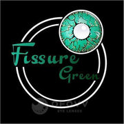Ofovv® Cheap Prescription Fissure Green Colored Contact Lenses Online Store(1 YEAR)
