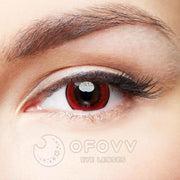 Ofovv® Eye Circle Lens Magic Red Naruto Colored Contact Lenses V6087(1 YEAR)