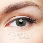 Ofovv® Eye Circle Lens Queen Grey Colored Contact Lenses V6118(1 YEAR)