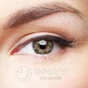 Ofovv® Eye Circle Lens Lolly Grey Colored Contact Lenses V6156(1 YEAR)