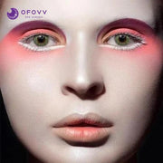 Ofovv® Eye Circle Lens Pony Green Colored Contact Lenses V6169(1 YEAR)