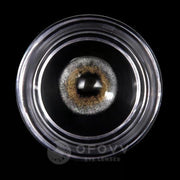 Ihrtrade™ Eye Circle Lens Amber Grey Colored Contact Lenses V6199(1 YEAR)