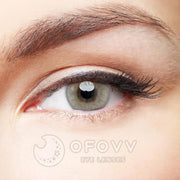 Ofovv® Cheap  Prescription Donut Grey Colored Contact Lenses Online Store(1 YEAR)