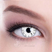Ofovv® Cheap Prescription Tick Tock Special Effect Colored Contact Lenses Online Store(1 YEAR)