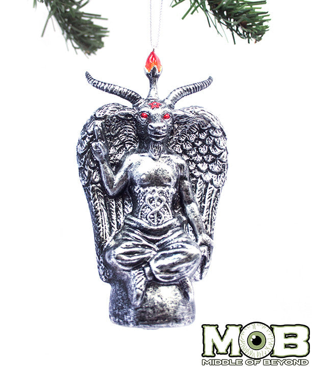 Baphomet Glass Ornament