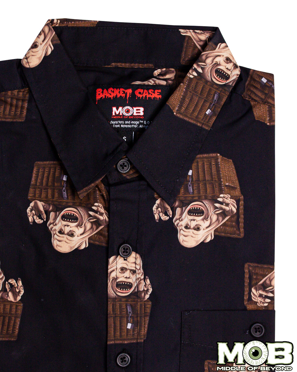 Basket Case Short Sleeve Button-Up Shirt
