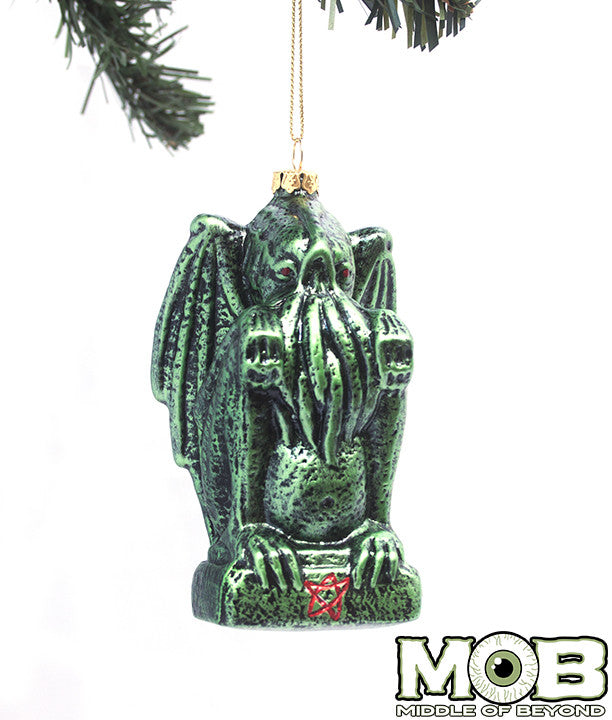 Cthulhu Glass Ornament – Middle of Beyond