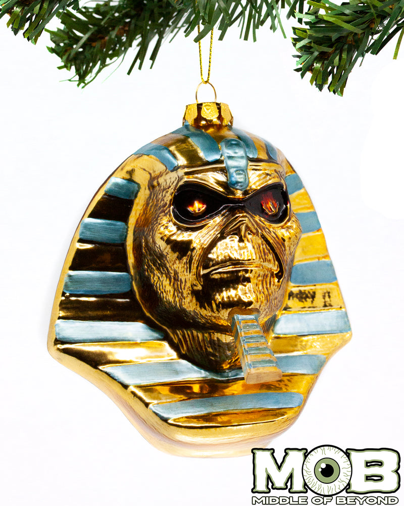 Iron Maiden - Powerslave Glass Ornament - Limited to 666