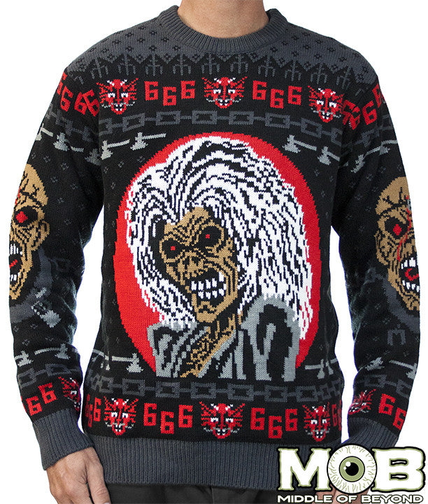 Iron Maiden Sweater Middle Of Beyond