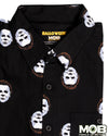Halloween Michael Myers Short Sleeve Button-Up Shirt