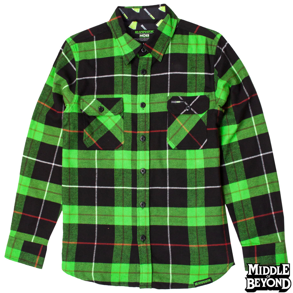 Re-Animator Flannel