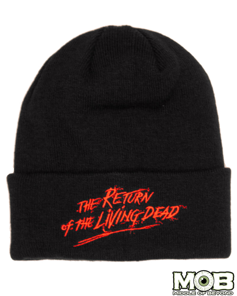 Return of the Living Dead Logo Knit Hat