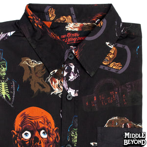 Return of the Living Dead Short Sleeve Button-Up Shirt Version 2