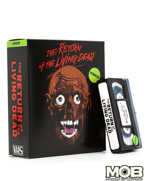 Return of the Living Dead VHS Glass Ornament