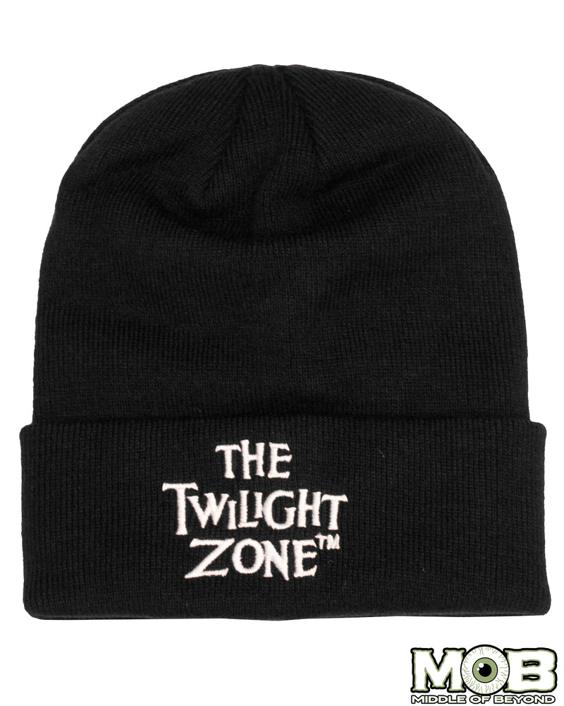 Twilight Zone Logo Knit Hat